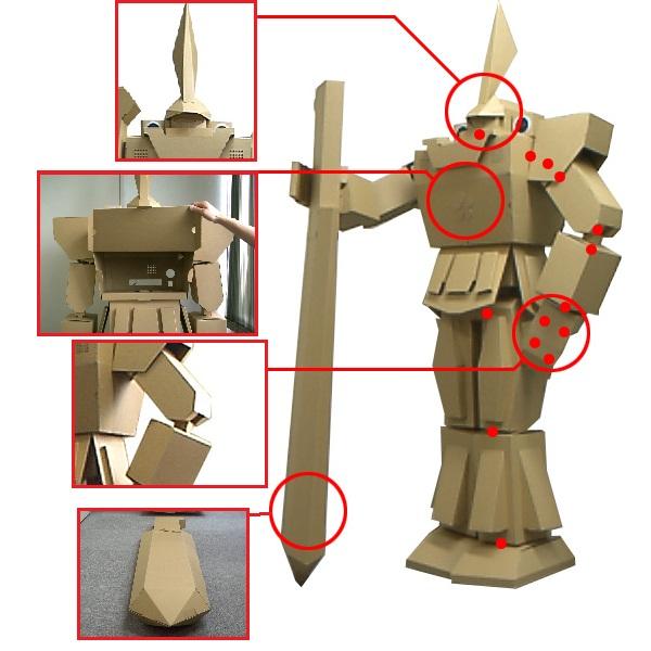 Шлем рыцаря из картона схема