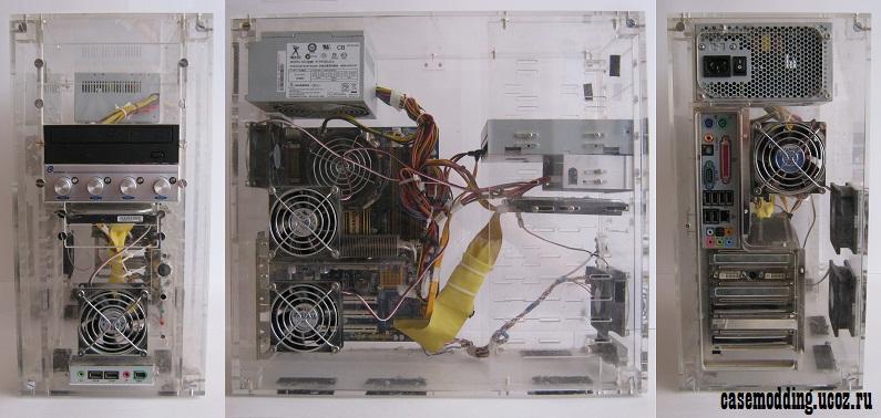 Компьютерный корпус своими руками чертежи 66